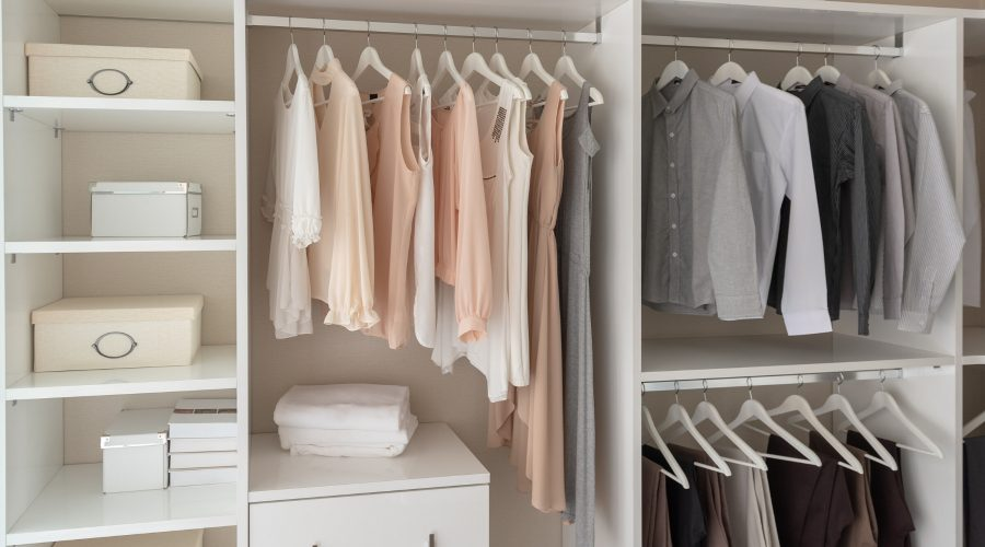 Home staging tips - closets
